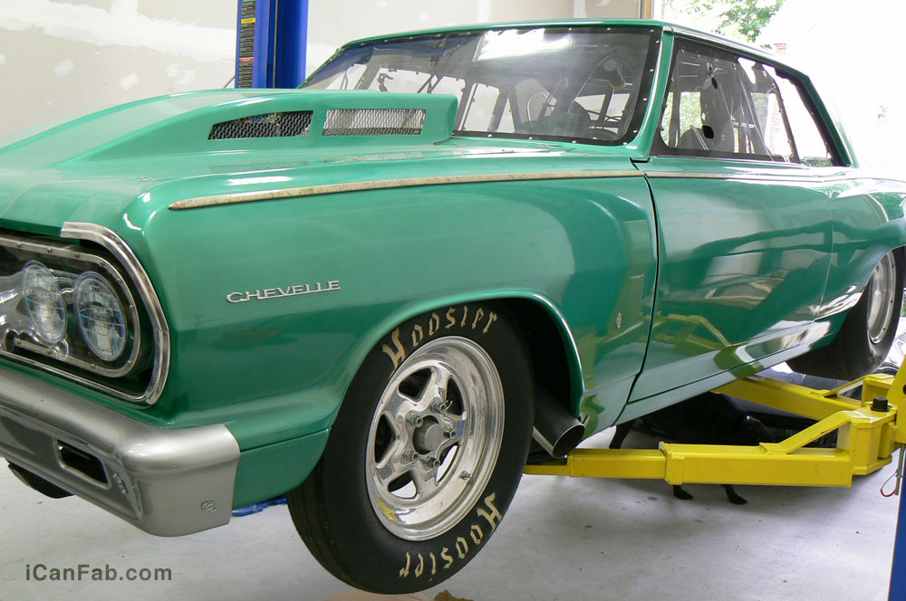 This Chevelle SS is perfect for a father and son team