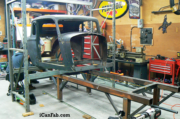 1933 Coupe Is Ready For The Frame Jig