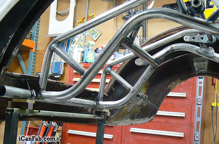 pro street chassis suspension