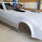 Della Woods nostalgia funny car body