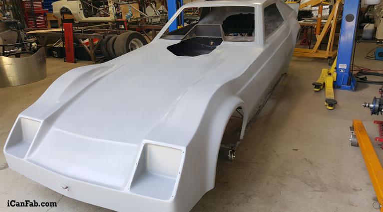 funny car shell