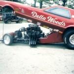 Della Woods Nostalgia funny car