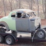 plymouth coupe restoration project