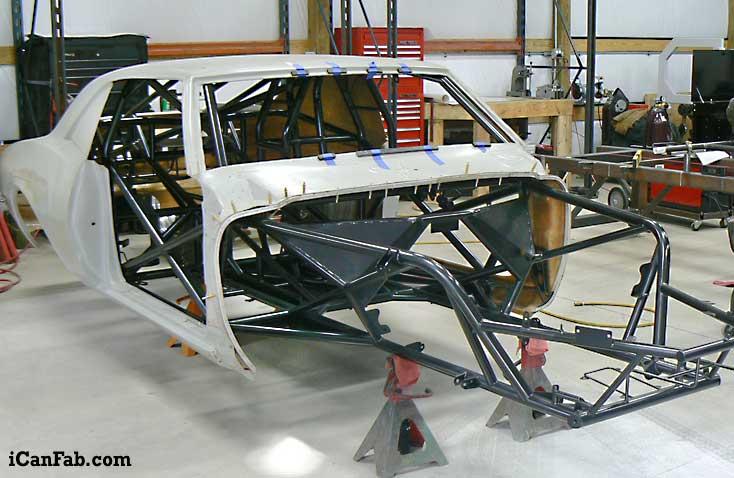 68 Camaro Chassis Fabrication Metal Fabrication Tig