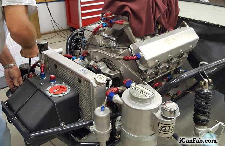 Finishing up the 555 Camaro