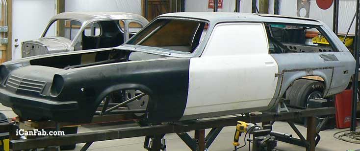 For Sale Chevy Vega Wagon Roller Metal Fabrication Tig