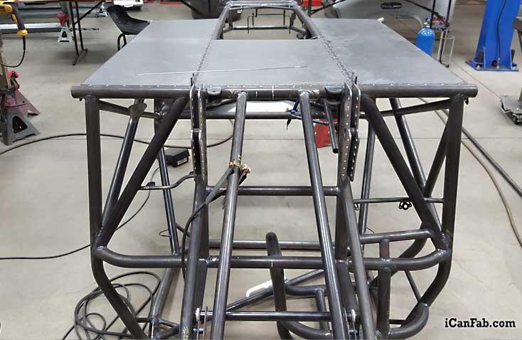 1977 vega wagon drag car chassis